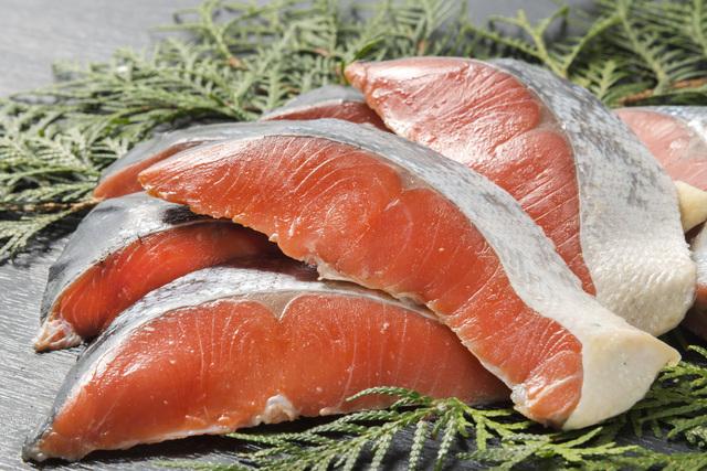 秋鮭の栄養と美肌効果