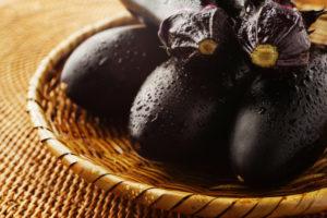 茄子の栄養と効果効能